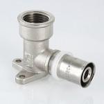 Пресс фитинг водорозетка удлиненная Valtec VTm.254H