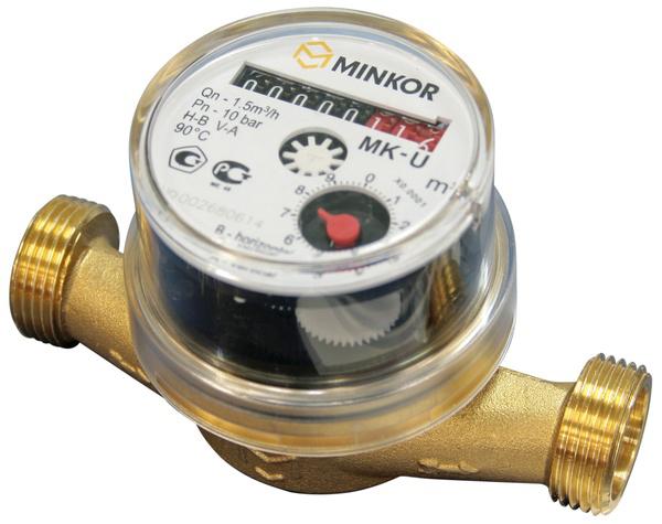 Minkor счетчик воды MK-U 15L